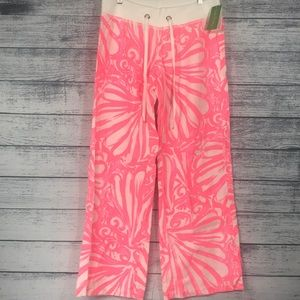 NWT-Lilly Pulitzer Linen Beach Pants